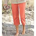 Colored Denim Dream Capri Pants