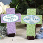 Personalized God Bless Christening Cross