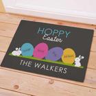 Happy Easter Personalized Welcome Doormat