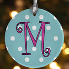 1-Sided Dot To Dot Personalized Christmas Ornament