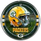 Green Bay Packers Chrome Plated Clock