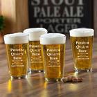 Personalized Premium Brew Pub Glasses