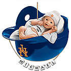 Personalized New York Mets Baby's First Christmas Ornament