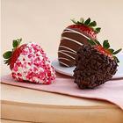 One Dozen Gourmet Dipped Valentine's Strawberries