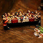Andean Last Supper Ceramic Statuette