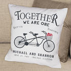 Together We are One Personalized Throw Pillow