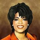 Oprah Winfrey Oil Painting Giclee