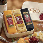 90th Anniversary Swiss Colony Cheese Gift Box