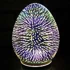 Oval Starburst LED Light