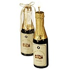 Wine Bottle Candle Favor