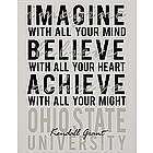 Personalized Graduation Dreams Canvas