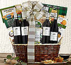 Steeplechase Vineyards Red Wine Quartet Gift Basket