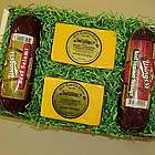 Wisconsin Cheese and Sausage Pairs Party Gift Pack
