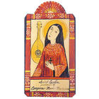 St Cecilia Patron Saint of Music Retablo Plaque
