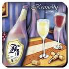 Personalized Wine Painting Coasters