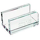Executive Glass Business Card Holder