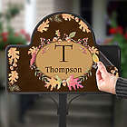 Personalized Autumn Hues Garden Stake Magnet