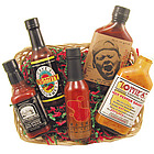 Hot Sauce Basket