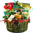 Say Merry Christmas Delicious Italian Food Gift Basket