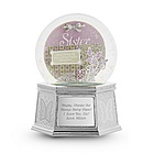 Sister Shadowbox Snow Globe