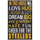 In This House We Cheer NFL Wall Plaque