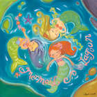 Mermaid Lagoon Wall Art Canvas Reproduction