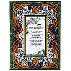 Irish Blessing Stained Glass Panel