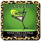 Personalized Martini Cosmo Chic Coasters