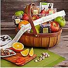 Organic Favorites Gift Basket with Personalized Ribbon