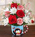 Joy to the World Mugable Penguin Bouquet