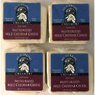 Four 8 Oz. Packs of Pasteurized Mild Cheddar Goat Cheese