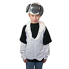 Lamb Hat Vest Costume