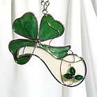 Irish Pipe and Shamrock