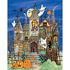 Haunted House Countdown to Halloween Calendar