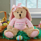 Baby Girl's First Easter Personalized Stuffed Easter Bunny
