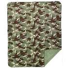 Camouflage Throw Blanket