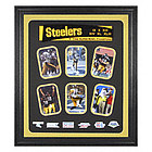 Pittsburgh Steelers Framed Six Time Super Bowl Champions Collage