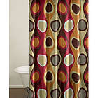 Retro Radar Shower Curtain