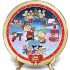 A Charlie Brown Christmas 50th Anniversary Porcelain Plate