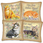 Feline Philosophy Canvas Pillows