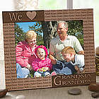 Loving Hearts Personalized Picture Frame with Engraved Names