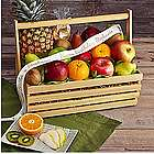 Organic Orchards Garden Basket with Personalized Ribbon