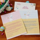 Easter Bunny Personalized Letter