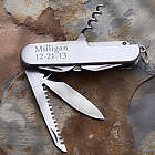 Personalized All Purpose Stainless Steel Pocket Knife