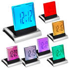 Charming 7-Color LED Alarm Clock