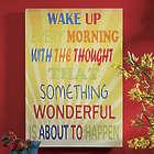 Wake Up Word Art