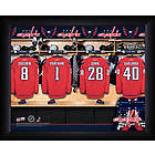 Personalized Washington Capitals Locker Room Framed Print