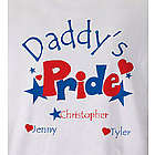 Personalized Heart and Stars Pride T-Shirt