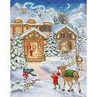 North Pole Advent Calendar