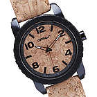 Sprout Cork Watch in Black